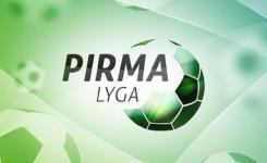 Pirmos lygos klubai nubraižė 2020 m. pirmenybių gaires