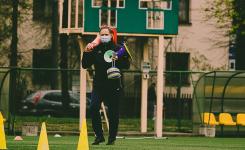 Sporto profesionalams leista treniruotis grupėmis